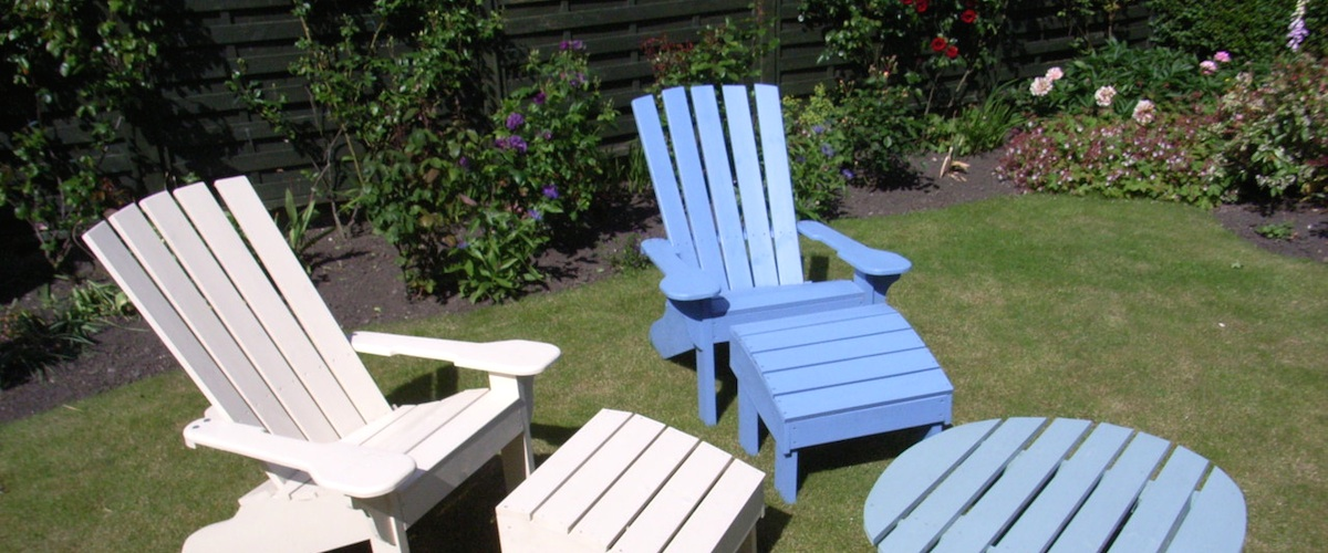 Handmade Garden Furniture Sunshine Chairs