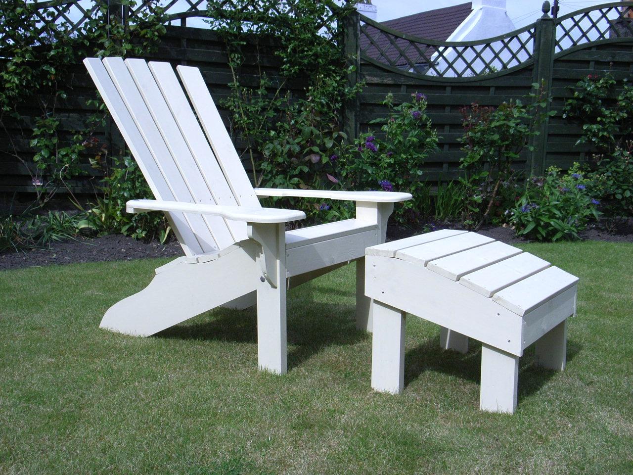 The Westport Garden Footstool Sunshine Chairs